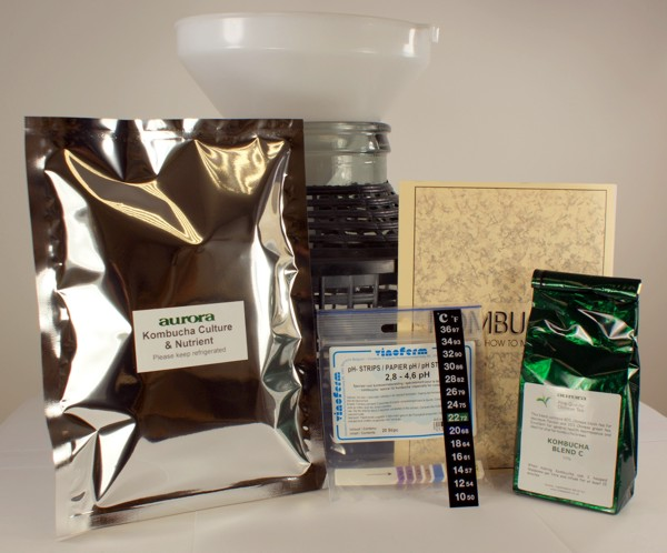 Kombucha Ingredients and Equipment